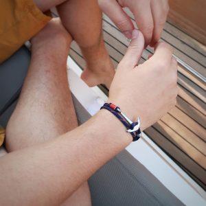 Bracelet l'authentique porté